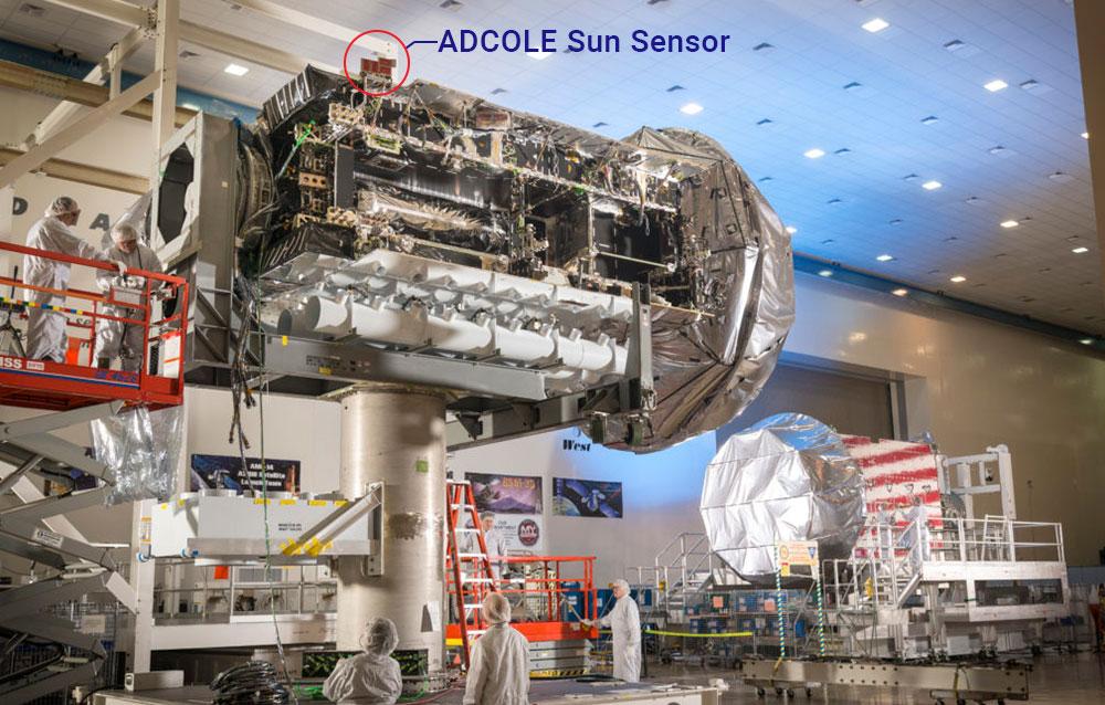 Adcole Sun Sensor Used in NASA's Atlas V Rocket