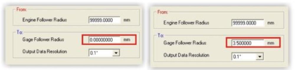 ErrTran Follower Conversion Software Seamlessly converts lobe lift data